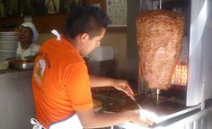 if ever you travel to Mexico, find this vender and buy a but load because you can get enough! I can wait to have more of this Tacos al pastor!!! omg if i could hae it all day i would!