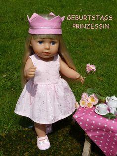 Puppen & Zubehör Puppenkleidung für Baby Born Puppen  Paar Socken Schmetterling