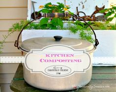 Come learn tips and tricks on Kitchen Composting for beginners!  www.chaoticallycreative.com