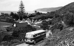 1956 SAR Brill Bus at Wilderness, Cape Province Knysna, Cape Town, Wilderness, South Africa, The Neighbourhood, United States, History, Buses, Classic
