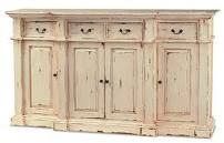 love this buffet sideboard! i can already see hurricane vases and our nice china on top!