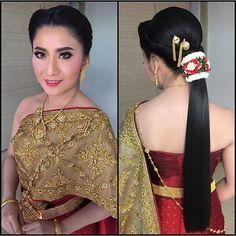 ทรงผมเจ้าสาวสุดฮิต ทรงผมแต่งงานชุดไทย ทรงผมเจ้าสาวงานเช้า ทรงผมแต่งงานสวยๆ ทรงผมเจ้าสาว ทรงผมชุดไทย แต่งหน้าเจ้าสาว