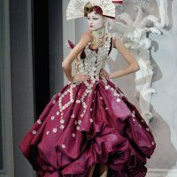 scary Haute Couture Fashion | Kiss for the Petals | Sono Hanabira ni Kuchizuke wo | Listless Ink