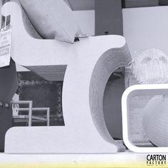 #Ibis Sedia in cartone ondulato MDF avana  #Johnny Teschio in cartone ondulato naturale  #cardboard #ecodesign #designshop  Dom Rome @ Roma