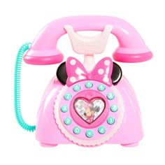 Early Bird Special: Just Play Girls Minnie Happy Helpers Rotary Phone Playset Girls Minnie Helpers Rotary Playset Expires Apr 16 2018 Little Girl Toys, Baby Girl Toys, Toys For Girls, Kids Toys, Toddler Toys, Baby Alive Dolls, Baby Dolls, Minnie Mouse Toys, Princess Toys
