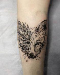 31 Mejores Imagenes De Tatuajes Zorro Fox Tattoos Foxes Y Animal