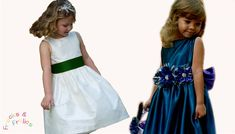 Sewing Pattern - Flower Girl Dress - How to sew a traditional 50's style...