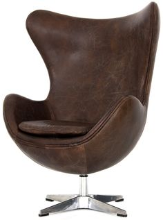 Egg chair Jacobsen #decoracion #interiorismo  ¿Quieres ser decorador profesional? www.esmadeco.com