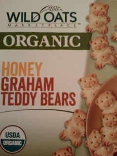 Wild Oats Organic Honey Graham Teddy Bears