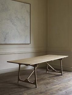Rose Uniacke - Shop - Folding 'Campaign' Refectory Table