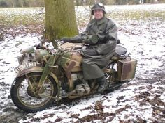 What motorcycles were used during World War II? - Quora