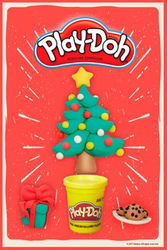 Your kids won't be disappointed to find Play-Doh under the tree this year!