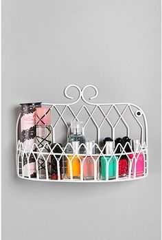I'm gonna have to get something like this to clear up counter space in the bathroom.