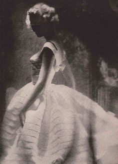 Photo by Lillian Bassman for Harper's Bazaar, April 1958.