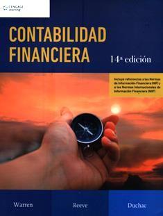Contabilidad financiera / Carl S. Warren, James M. Reeve, Jonathan E. Duchac. HF 5681 W3 2016