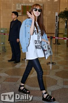 #4minute #gayoon #fashion #airport