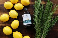 Make your house smell like Williams Sonoma - simmer 3 lemons, 3 sprigs of rosemary, 1 tbsp vanilla extract & 4 cups of water!