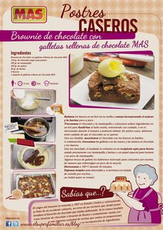 #Receta #Brownie de #chocolate.