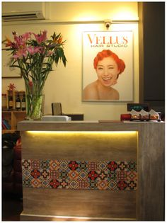 """See 4 photos and 1 tip from 15 visitors to Vellus Hair Salon. """"VIP room, personalised services, cosy ambience w soft music. Manic Panic Hair Dye, Vellus Hair, Hair Studio, Dyed Hair, Salons, Gallery Wall, Design, Lounges"""