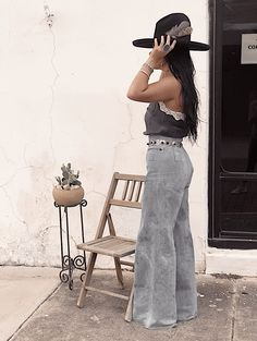 #gypsybleuboutique #vintagelevibells #navajoconchobelt #cardtablechairs #cactus #stetsonhats #southwesternfashion Country Girl Outfits, Western Outfits Women, Southern Outfits, Country Girl Style, Country Dresses, Country Fashion, Cowgirl Outfits, Boho Fashion, Fashion Outfits