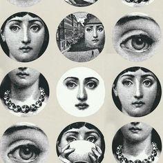 Fornasetti wallpaper -- Tema e Variazioni