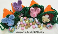 Carrot Pouch Tutorial ~ Amigurumi To Go - Free pattern