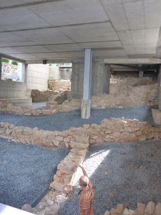 Ruínas no Arquivo Municipal Chaves
