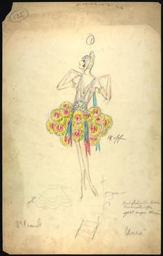 Charles Le Maire costume designs for the Greenwich Village follies [graphic] - NYPL Digital Collections