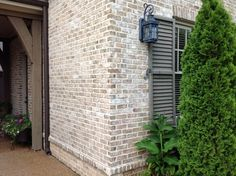 Beautiful Exterior Brick Color Cherokee Brick U0026 Tileu0027s Old Orleans M/S With Desert  Buff Mortar Corner Part 29