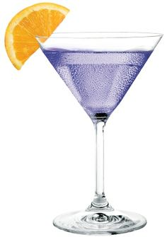 Purple Punch: by Pinnacle Vodka 2 oz. Pinnacle Tropical Punch Flavored Vodka ½ oz. Blue Curacao ½ oz. grenadine Splash club soda Shake with ice and strain into a chilled martini glass. Garnish with an orange wedge.