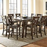 Found it at Wayfair - Crosspointe 9 Piece Counter Height Dining Set