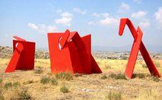 Installation, Calern 2003 #JeanLouisCHARPENTIER © Land Art