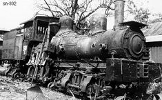 Dequeen & Eastern RR 45 ton 2 truck Shay #100 was their first new locomotive. It was  bought from Lima in August of 1903 SN 802. It proved to be to slow for what they needed and was sold in 1905. Photo was taken in a a salvage yard in Palestine, Txas in 1940.