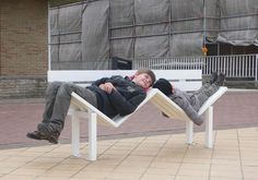 Modified Social Bench by Jeppe Hein