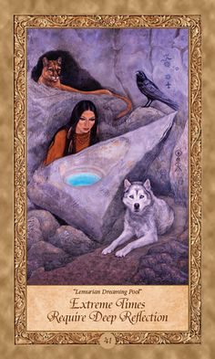 The origins of the Tarot are surrounded with myth and lore. The Tarot has been thought to come from places like Animal Spirit Guides, Spirit Animal, Oracle Tarot, Oracle Deck, Angel Guidance, Love Tarot, Doreen Virtue, Spirited Art, Angel Cards