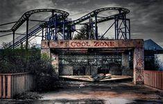 parc d'attractions abandonné - Six Flags Amusement park (Noulle-Orléans, Etats-Unis)