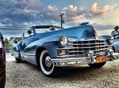 1947 Cadillac Convertible at the Hamptons NY #1949cadillacconvertibleclassiccars