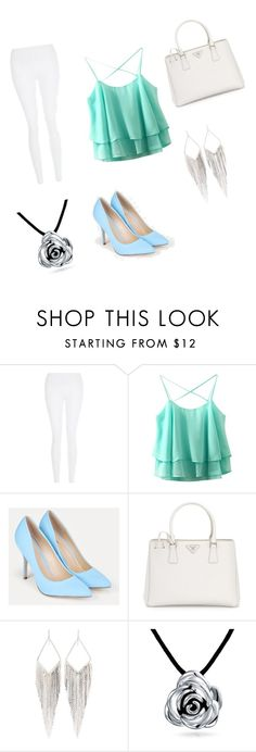 """back to school"" by maisha-3 ❤ liked on Polyvore featuring beauty, New Look, JustFab, Prada, Jules Smith and Bling Jewelry"