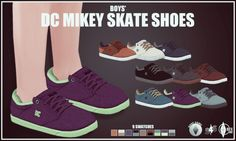 Boys' Mikey Skate Shoes at Onyx Sims via Sims 4 Updates