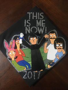 My Bobs burgers graduation cap!! #gradcap #diy #bobsburgers #graduation