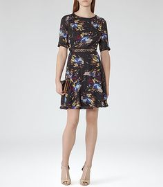 Reiss 'Marla' FLORAL-PRINT DRESS