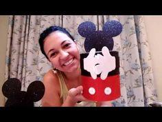 Cofrinho do Mickey - faça você mesmo - YouTube