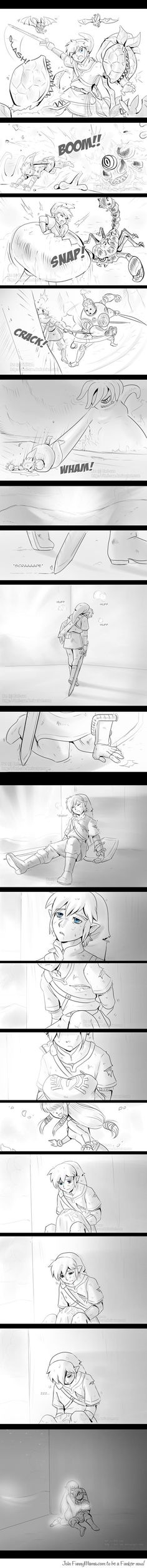 Link's reason to fight