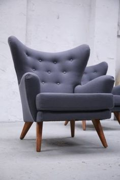 Cool 1950s Armchairs by G Plan - http://www.upholsterly.com/