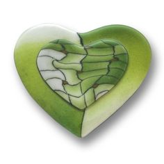 Heart pin: MARGARITA
