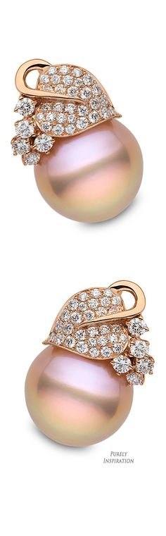 Yoko London Capri Collection (rose gold, diamonds, pink baroque freshwater pearls) | Purely Inspiration