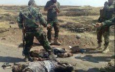 """مقاتلو الجيش والحشد الشعبي يفجرون نفقا بطول 700 متر في """" البغدادي """"كان يضم عناصر داعش الوهابي ومقتل 23 ارهابيا"""