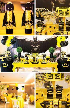 Batman Party Supplies Archives - Batman Printables - Ideas of Batman Printables - Batman Party Inspirations Batman Party Ideas of Batman Party Brazilian Batman Party Lego Batman Birthday, Lego Batman Party, Superhero Birthday Party, 6th Birthday Parties, Boy Birthday, Batman E Batgirl, Baby Batman, Superman, Funny Batman