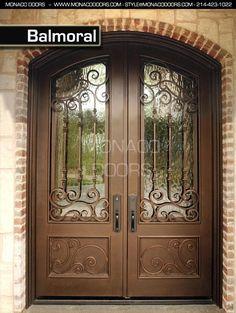 Iron Double Door Clark Hall Iron Doors Charlotte, NC … | Pinteres…