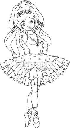 Spiderman Coloring Pages Cute Ballerina Coloring Pages, Barbie Coloring Pages, Princess Coloring Pages, Cute Coloring Pages, Coloring Pages For Kids, Coloring Books, Spiderman Coloring, Dance Crafts, Catty Noir